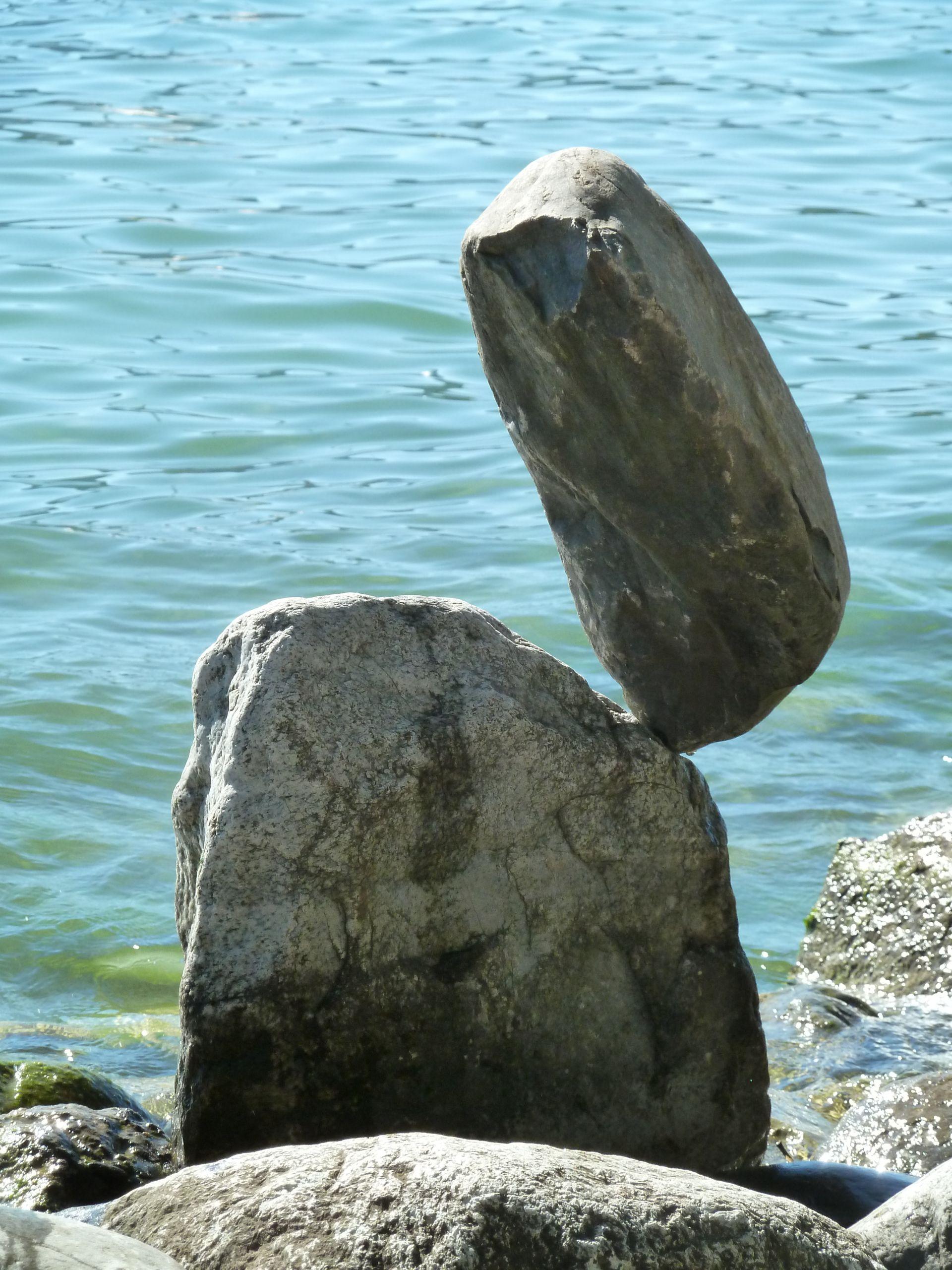 Steine aufeinander